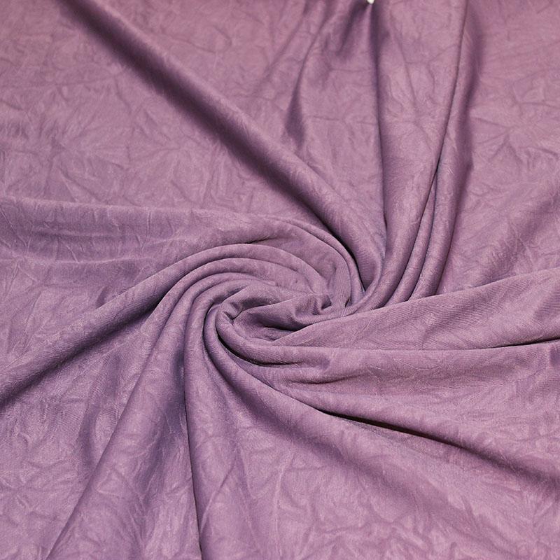 Lycra danse motifs Violet froissé