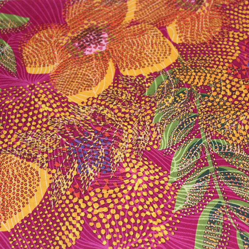 Lycra danse motifs Fleurs des îles