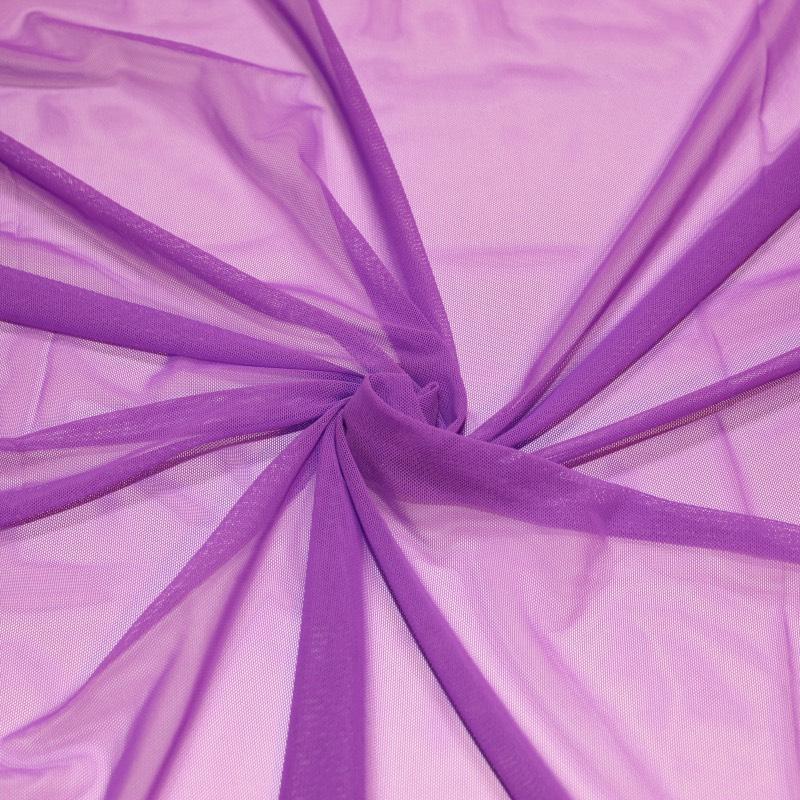 Tissus danse Résille violette