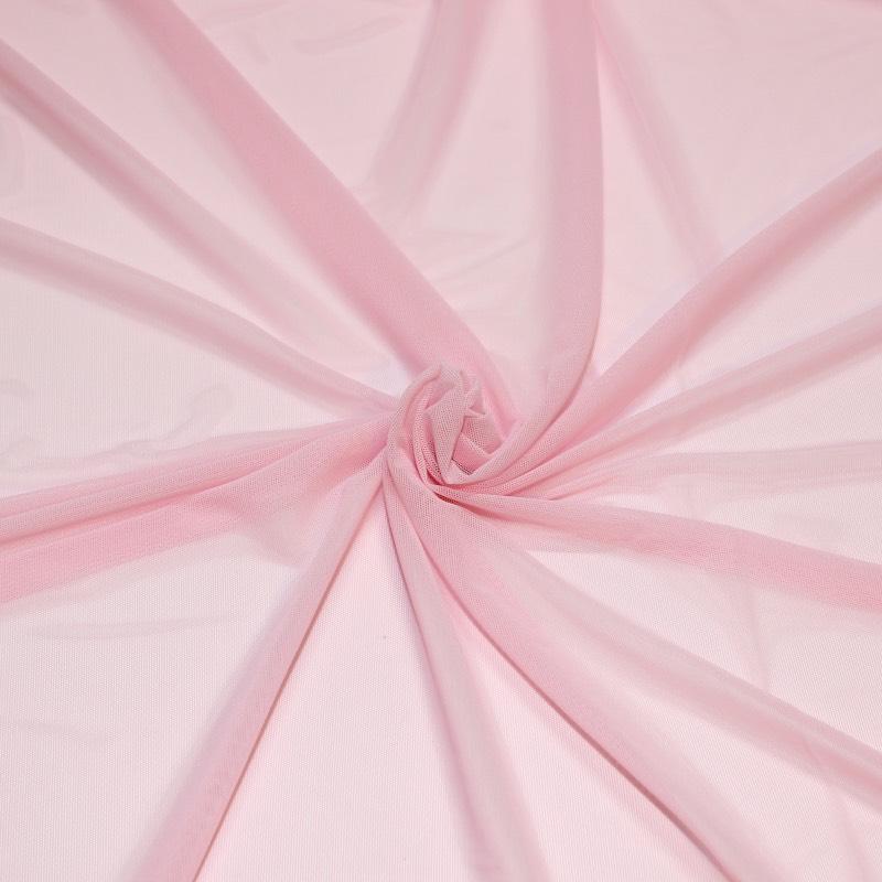 Tissus danse Résille rose pâle