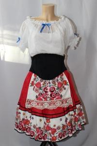 Costume de danse classique d'inspiration slave